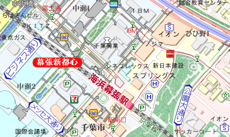 大通り 千葉 テスト センター 駅前