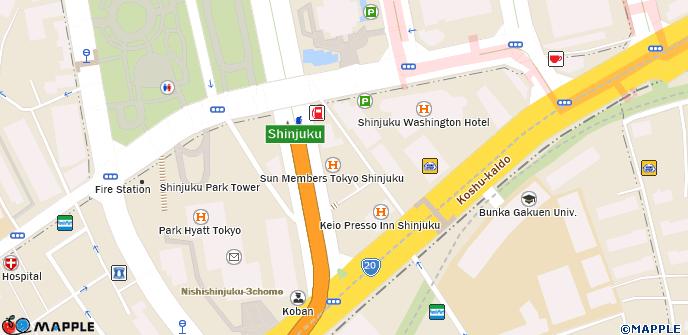 Sun Members Tokyo Shinjuku on sapporo hotel map, shanghai hotel map, kanazawa hotel map, paris hotel map, rome hotel map, tokushima hotel map, new york hotel map, roppongi hotel map, singapore hotel map, osaka hotel map, tokyo hotel map, milan hotel map, rainbow bridge hotel map, okinawa hotel map, chicago hotel map, umeda hotel map,